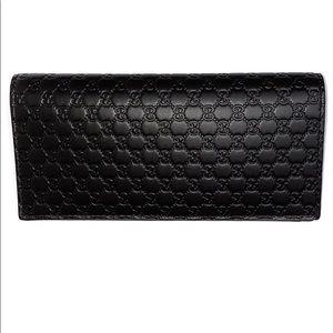 Gucci Microguccissima GG Logo Wallet